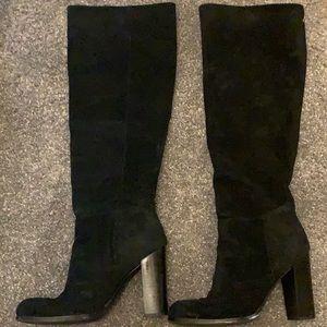Sam Edelman suede black boots
